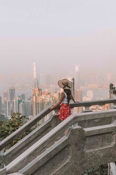 Views at Victoria Peak, Hong Kong