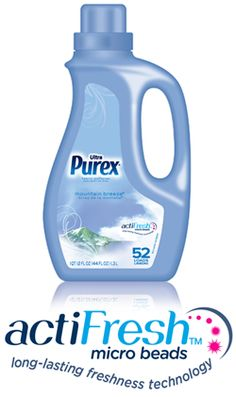Ultra Purex Regular Fabric Softener  ... Now with actiFresh!