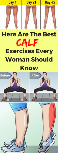 Here Are The Best Calf Exercises Every Woman Should Know