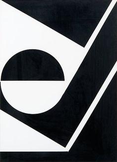 Lars Gunnar Nordstrom, SVARTVIT KOMPOSITION, 1966