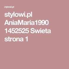 stylowi.pl AniaMaria1990 1452525 Swieta strona 1