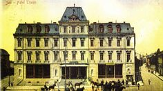 Stiati ca initial Grand Hotel Traian a fost proiectat sa fie teatru ? Grand Hotel, Romania, Louvre, Building, Travel, Home, Viajes, Buildings, Ad Home