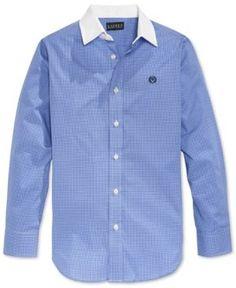 Lauren Ralph Lauren Boys  Blue Shirt - Blue White Blå Och Vit a05644d5e1965