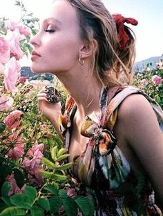 You, too, can rock a frock with élan and mystical hipness like Lily-Rose Depp this fall.