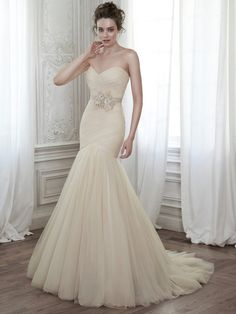 Maggie Sottero Wedding Dresses - Style Lacey with belt
