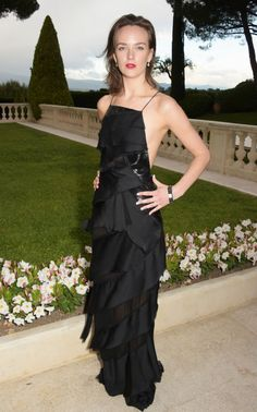 Charlotte Carroll. See what all the stars wore at the Cannes amfAR gala.