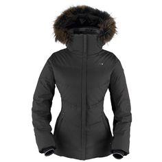 Killy Nymphe Women's Fur Jacket in Black |Waterproof | Breathable | Women's | Ski Jacket | Fitted | Warm | Down | £549.00