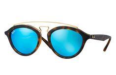 Ray-Ban 0RB4257-RB4257 GATSBY II Tortoise,Gold  Tortoise SUN Blue Sunglasses 4283ec9e2ead