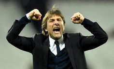 JOE BERNSTEIN: Not since Jose Mourinho Mark I have Chelsea fans idolised a manager like Antonio Conte, the jumpy, intense and charming workaholic who is set to be a champion. Premier League, Chelsea Fans, Antonio Conte, Football, Champion, Boss, Celebrities, Sports, Fictional Characters
