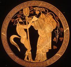 DIONYSUS, SATYR, AULOS