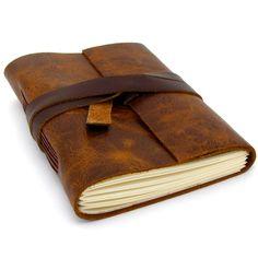 Brown Leather Sketchbook