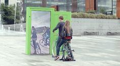 In Paris, Interactive Doors 'Transport' Pedestrians To Other European Cities