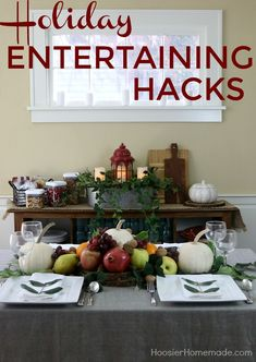 HOLIDAY ENTERTAINING