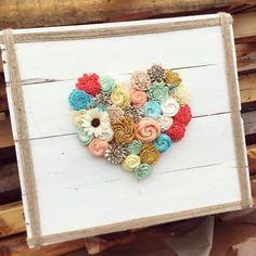 40% off home decor ends tonight at 11:59 MST! (Code: easter40) To sweeten the deal, this lovely sign was just added to ecoflower.com. #ecoflower #upcycle #wood #homedecor #easter #love #countrylove #heart #flowers #twine #palletwood