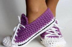 Crochet Sock Slippers