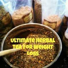 How to Make Ultimate Herbal Slimming Tea (For Weight Loss)