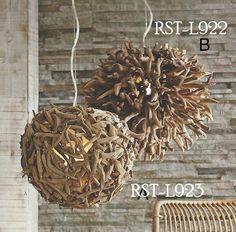 Roost L923 Driftwood Sphere Transitional Chandelier RST-L923