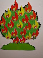 "Hands On Bible Teacher: ""Burning Bush""...in my classroom"