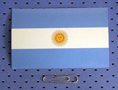 Argentina flag stick