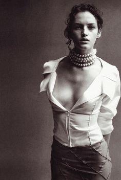 Vivien Solari By Peter Lindbergh for Vogue Italia