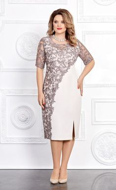 Elegant and stylish: dresses for overweight ladies of any age for the holidays Modest Dresses, Elegant Dresses, Plus Size Dresses, Beautiful Dresses, Formal Dresses, Stylish Dresses, Dance Dresses, Short Dresses, Mother Of Groom Dresses