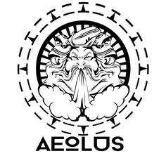 Aeolus, the Greek god of wind.