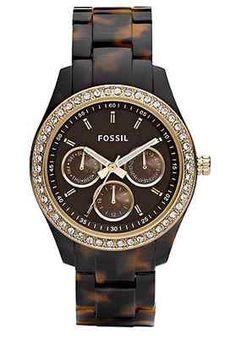Fossil Watch, Women's Stella Tortoise Resin Bracelet @eBay! Place your bid now! #ebay