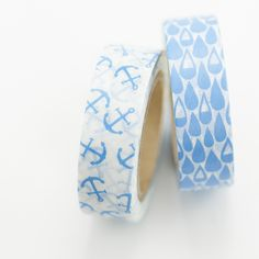 Anchor + Water Washi Tape www.wishywashi.com