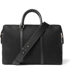 Designed to accommodate the busiest work or travel schedules, <a href='http://www.mrporter.com/mens/Designers/Paul_Smith'>Paul Smith</a>'s durable canvas holdall has multiple internal pockets to keep you organised. Attach the leather shoulder strap for fuss-free use.