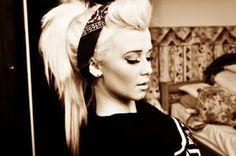 rebel style, hair