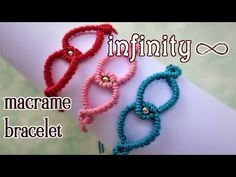 Dna spiral bracelet tutorial diy double helix macrame school macrame infinity bracelet tutorial the most simple and easy armlet you can make youtube fandeluxe Images