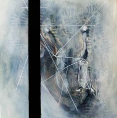 "Saatchi Art Artist Alexandra Elena; Painting, ""Falling horse"" #art"
