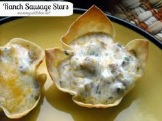 Mommy's Kitchen: Ranch Sausage Stars {The Perfect Party Food}