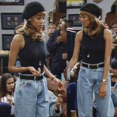 90's Fashion! Best 90's Outfit Ideas #90s #90sfashion #90sstyle #90saesthetic #90sgrunge #90sbabes #90sparty #90soutfits #vintage #vintageoutfits #vintageoutfitideas Black 90s Fashion, 2000s Fashion, Early 90s Fashion, French Fashion, Winter Fashion, Mode Outfits, Retro Outfits, Fashion Outfits, Swag Fashion