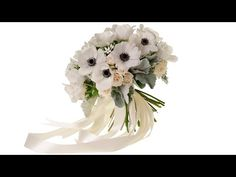 Romantic Bridal Bouquet - YouTube