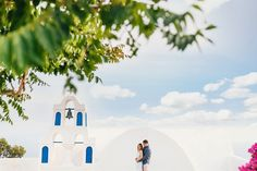 Santorini Honeymoon, Greece | Fly Away Bride