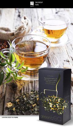 Prodotto - Euphoria Green Tea - Federico Mahora FM GROUP Italia #tea #aurile #teatime #fmgroup