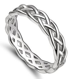 925 Sterling Silver Celtic Knot Eternity Band Ring Engagement Wedding Band 4mm Size 4 - 11 #Engagement-Rings http://www.weddingdealusa.com/925-sterling-silver-celtic-knot-eternity-band-ring-engagement-wedding-band-4mm-size-4-11/16423/?utm_source=PN&utm_medium=jillweddings+-+engagement+rings&utm_campaign=Wedding+Deal+USA