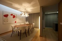 diningroom | oval table | empa chairs | details | glow pallucco