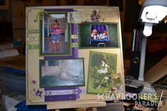 by Selena for Scrapbooker's Paradise Blog