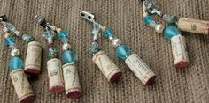 Wine Cork Tablecloth Weights Recycled set of 4. $25.00, via Etsy.