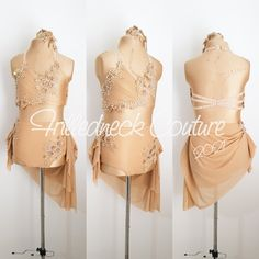 Dance Costumes Lyrical, Girls Dance Costumes, Lyrical Dance, Dance Outfits, Pool Dance, Dance Comp, Circus Costume, Costume Collection, Dance Wear