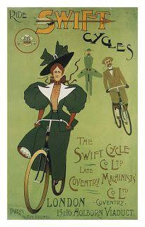 Mi Vida en Bici: Carteles Antiguos: Swift Cycles