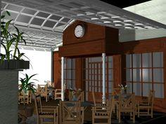 DECORACIÓN: Proyecto Terraza cubierta Juán Bravo, 25 - Infografia 3D Max
