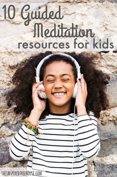 The Inspired Treehouse - These 10 resources are the perfect place to start if you want to try mindfulness activities and guided meditation for kids! Meditation Scripts, Meditation For Anxiety, Meditation For Beginners, Meditation Techniques, Daily Meditation, Mindfulness Meditation, Meditation Kids, Vipassana Meditation, Meditation Pillow