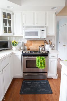 Learn how to successfully paint your kitchen cabinets   In My Own Style