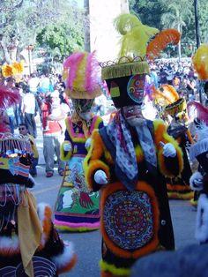 Chinelos en Morelos, Mexico