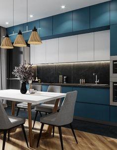 11 Amazing Kitchen Design Trends In 2019 Modern Kitchen Interiors, Luxury Kitchen Design, Kitchen Room Design, Contemporary Kitchen Design, Best Kitchen Designs, Kitchen Cabinet Design, Home Decor Kitchen, Interior Design Kitchen, Kitchen Ideas