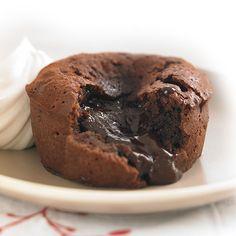 Individual Chocolate Lava Cake