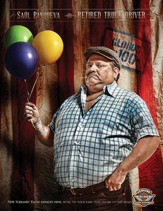 Retired Truck Drivers by Julian Franky Tobon, via Behance